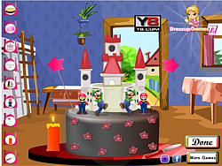 Princess Peach Castle game