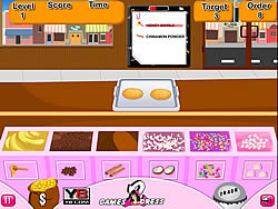Choco Cookies Shop game