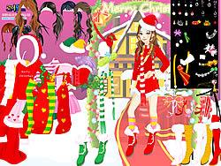 Christmas Charlotte Dressup