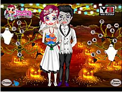 Halloween Wedding Couple game