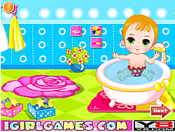 Juega al juego gratis Baby Bathing Games For Little Kids