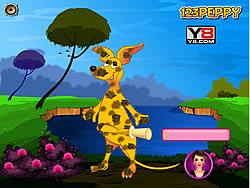 Peppy's Pet Caring - Kangaroo game