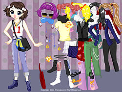 All Styles Dress up game