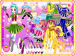 Magic Dress up game