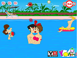 Swimming Time Kiss spel