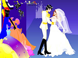 Colorful Wedding Dressup