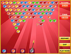 Bubble Shooter Valentine game