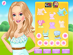 Spring Mood Dress Up game game