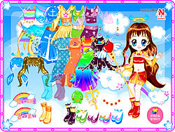 Florine Doll Dressup game
