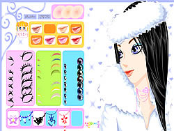 Juega al juego gratis Winter Girl Makeup