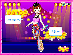 Dancer Dressup 2 game