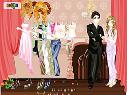 Chique Couple Dressup game