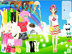 Rainbow Style Dress Up