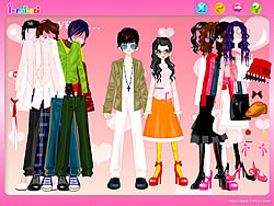 Couple Shopping Dress Up game