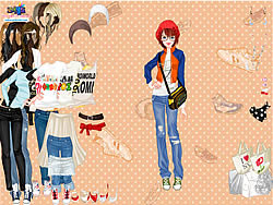 Bags and Sneakers Dress Up game