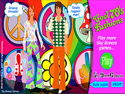 Cool 70's Dress Up game