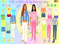 Pretty in Pastels game