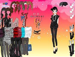Skinny Jeans Dress Up game