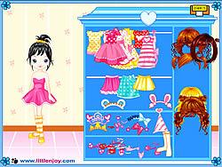 Little Doll Girl Dressup