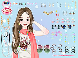 Melody Dressup game