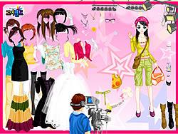 Juega al juego gratis In Fashion Magazine World Dress Up