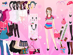 Sweet Adorable Dressup game