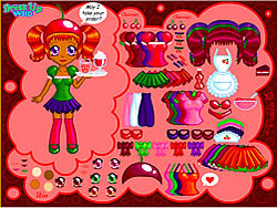 Cherry Soda Dress Up game