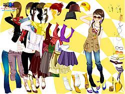 Gioca gratuitamente a Autumn Season Dress Up