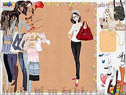 Shopping Girl 3 Dress Up game