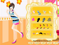Girl Dressup Makeover 10 game