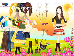 Tribal Trends Dressup game