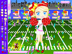 Juega al juego gratis Football Cheerleader