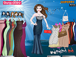 Sandra Prom Party Dressup game