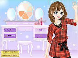 Prep School Chick Dressup game
