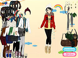 After the Rain Dressup game