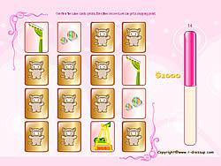 Girls Memory game