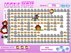Little Red Riding Hood - Cookie Feast game