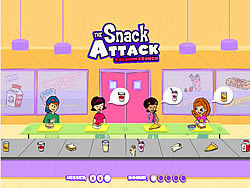 The Snack Attack - Calcium Crunch game