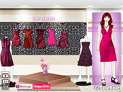 Makeup for Red Dresses game