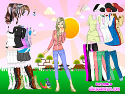 Sunshine Dressup game