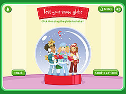 Create A Snow Globe game
