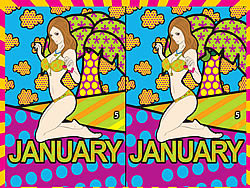 Calendar Girls 2009 game