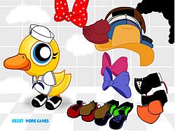 Ducky Dress Up game