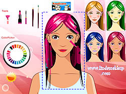 Girl Make Up 2 game
