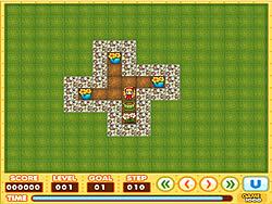 Garden Sokoban game