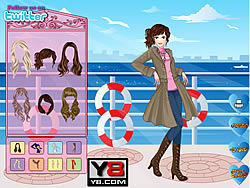 Feel Romantic Dress Up game