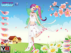 Flower Fairy Cutie Dress Up game