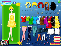Beautiful Country Girls Dress Up game
