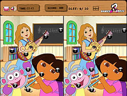 Point And Click - Dora game