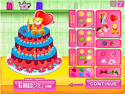 Birthday Cake Chef game